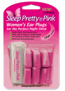 Sleep Pretty in Pink Earplugs
