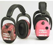 Pro Ears Sporting Clay Gold Earmuffs
