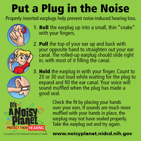 Do You Know How to Properly Insert Your Foam Ear Plugs ...