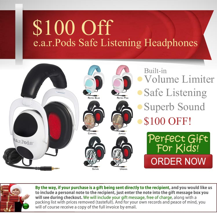 Spotlight Sale: e.a.r.Pods Safe Listening Headphones for Kids