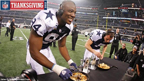 The NFL is all about Thanksgiving!