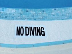 No Diving!