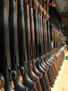 Shotguns, all ready for hunting season!