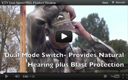 Video Review of Etymotic GunSport PRO Electronic Ear Plugs
