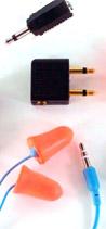 Plugfones Racing Fan Isolation Earphones Kit
