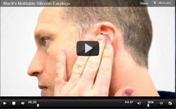 How to Fit Mack's Moldable Silicone Ear Plugs