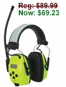 Sync AM/FM Radio Earmuffs