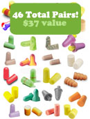 Ear Plug Assortment Trial Pack