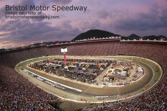 The Bristol Motor Speedway - The Loudest Track in the Circuit
