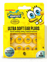 New SpongeBob SquarePants Ear Plugs are here!