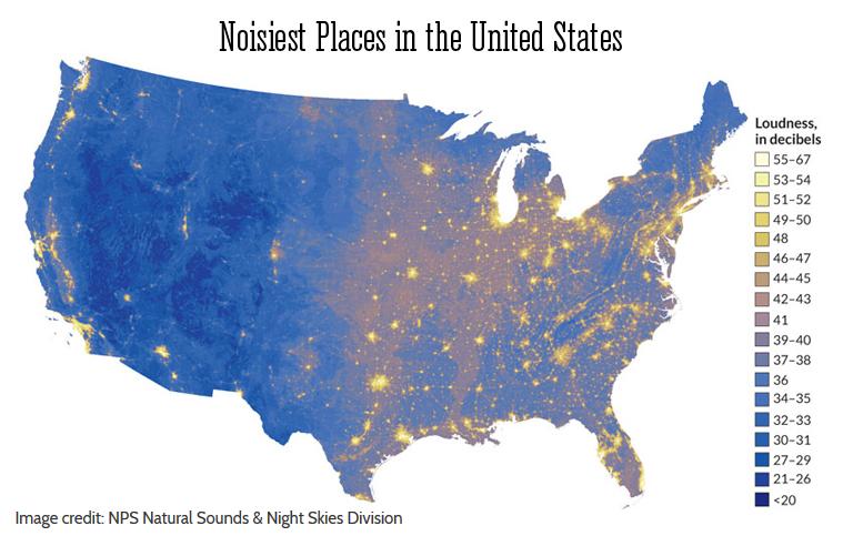 Noisiest-places