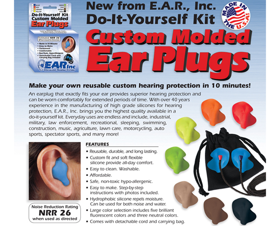 EAR Inc Custom Ear Plug Kit